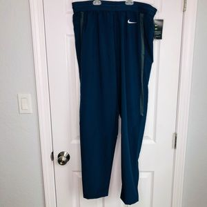 Nike Dri-Fit Blue Mens Sz Large Practice Joggers